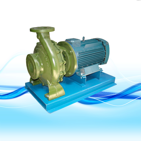 CLOSE-COUPLED HORIZONTAL CENTRIFUGAL PUMP
