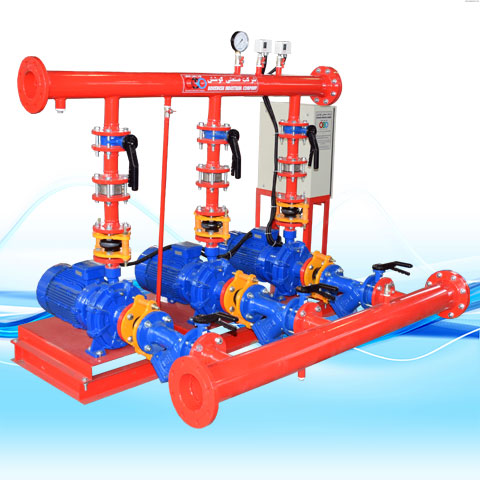 BOOSTER PUMP WITH TWIN IMPELLER HORIZONTAL SPERONI-2C PUMPS