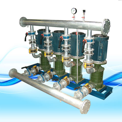 BOOSTER PUMP WITH VERTICAL KOUSHESH-KVM PUMPS