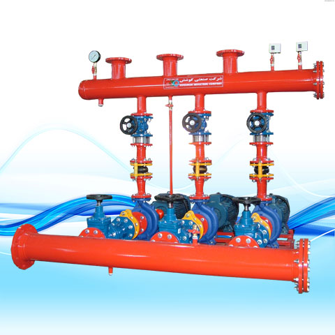 BOOSTER PUMP WITH HORIZONTAL PUMPIRAN PUMPS