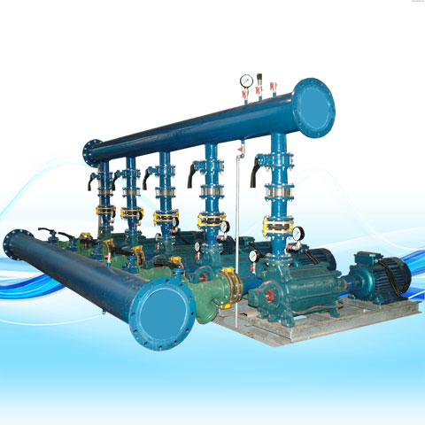 BOOSTER PUMP WITH MULTISTAGE HORIZONTAL PUMPIRAN PUMPS